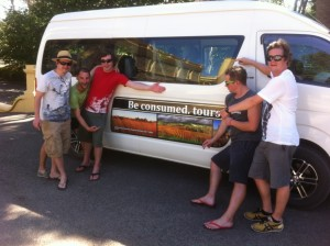 British lads love Be consumed tours sea and vines