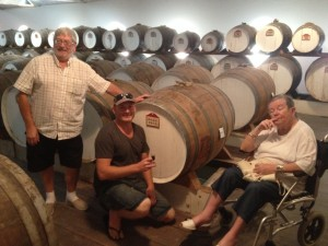 Barossa tasting of birth year at Seppeltsfield